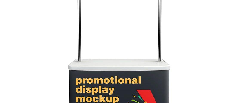 Promotional Display Mockup Free - www.divyenbhadeshiya.com